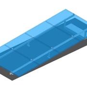 Opstelling plat dak systeem